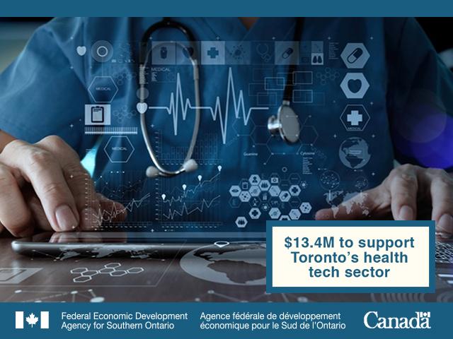 FedDev Ontario supports health innovation in Toronto