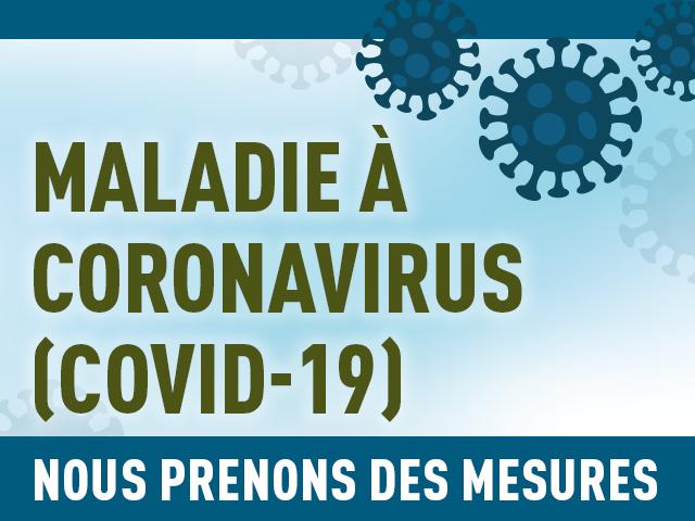 Nouvelles mesures du gouvernement du Canada pour lutter contre la COVID-19