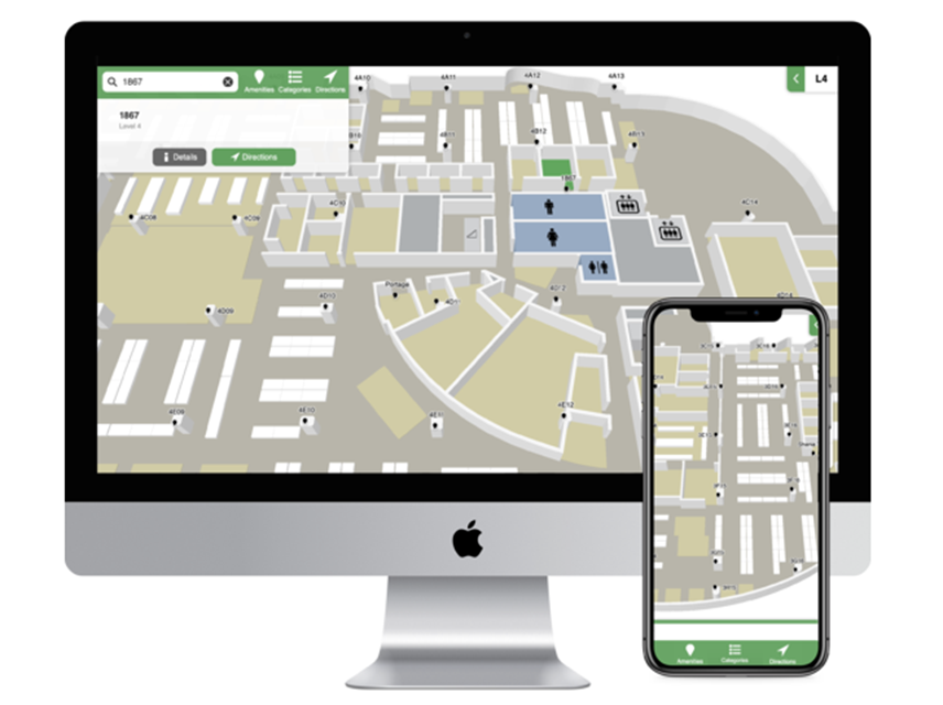 Planifier un retour au travail sécuritaire avec Mappedin