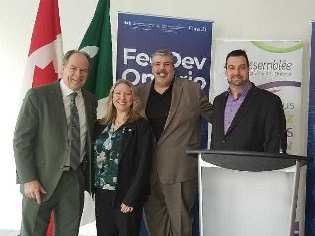 FedDev Ontario Announces Support for Francophone Communities