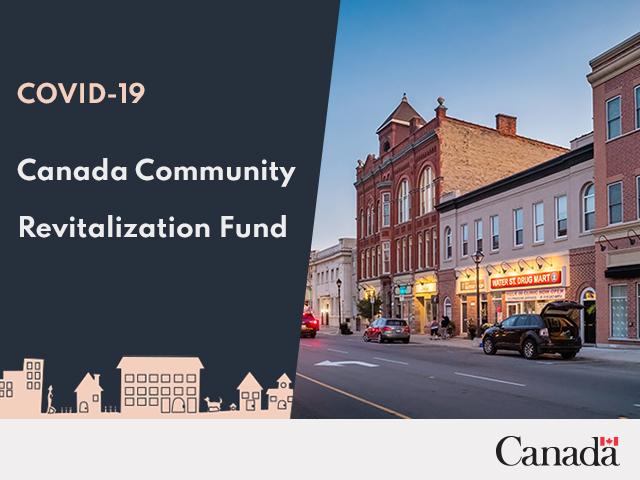 Government of Canada launches $500-million Canada Community Revitalization Fund