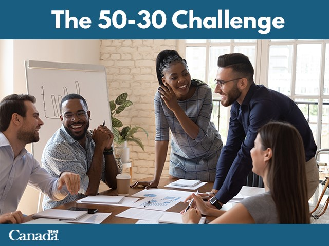 Join the 50 – 30 Challenge for inclusive growth
